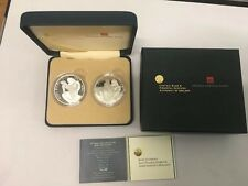 Irlanda & Croacia 2007 Kuna plata prueba de conjunto euro/libre de Reino Unido P&p