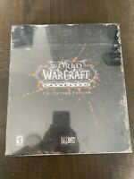 Blizzard World of Warcraft: Cataclysm Collector's Edition SEALED NIB NEW!