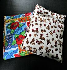 Microwave Cloth Cooking Bags Potatoes Vegetables Handmade 100% Cotton NEW