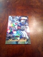 1998 Topps gold label marshall faulk colts nm vintage