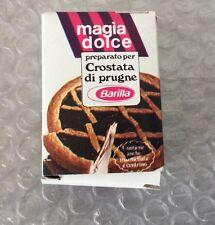 Vintage BARILLA CROSTATA MAGIA DOLCE Mignon Mini Scatola Anni 70 Giocattolo