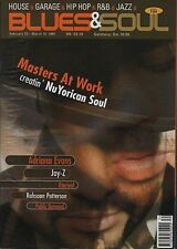 Masters At Work on Blues & Soul Magazine Cover 1997 Jay-Z Eternal  Adriana Evans