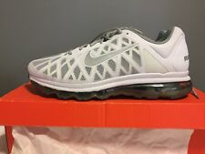 Nike Air Max 2011 Size 13 White & Metallic Silver