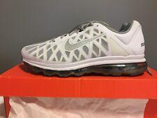 Nike Air Max 2011 Size 13 White & Metallic Silver