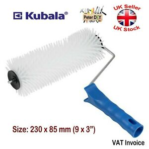 SPIKED ROLLER Aeration 230x85mm Self Levelling Screed Flooring Tool 20mm Spikes