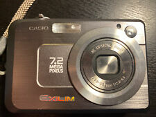 Casio Exilim Digital Camera EX-Z750 7.2 Mega Pixels Silver
