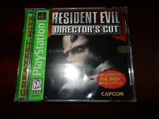 Resident Evil Director's Cut (Sony PlayStation 1, 1998) BRAND NEW, SEALED! #G210