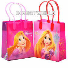 6 Pcs Disney Rapunzel Authentic Licensed Small Party Favor Goodie Gift Bags