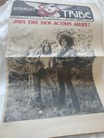 AUG 1969 BERKELEY TRIBE UNDERGROUND NEWSPAPER VOL 1 #6 JOIN NEW ACTION ARMY