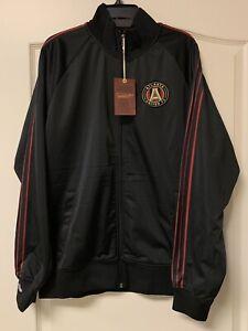NEW W TAGS-Men's Atlanta United FC Mitchell & Ness Track Zip Jacket -XL-MSRP $95