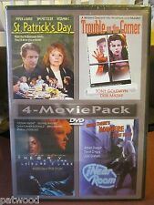 4-MOVIE PACK: ST. PATRICK'S DAY / TROUBLE CORNER/ THEORY / NEAR+(DVD, 2001), NEW