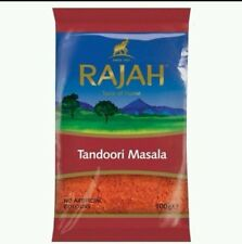 Rajah Tandoori Masala Indian Spice Asian Cooking 100g