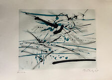 """Gabor Peterdi - """"BIRDS"""" - Etching from deluxe edition of """"A Genesis"""""""