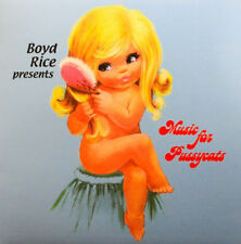 BOYD RICE PRESENTS - Music For Pussycats - LP / Pink Vinyl - Limited 250