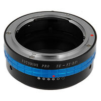 Fotodiox PRO Lens Adapter Mamiya 35mm (ZE) Lens to Fujifilm X-Mount Camera