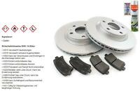 Brake Discs Brake Pads Rear for Seat Leon 1M1 1.8 T-Shirt Cupra R VW