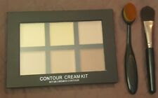 CREAM CONTOUR PALETTE~ 6 Shades+ Bundle 2 Contouring Brushes!  LOW WORLD SHIP!