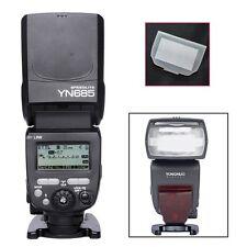 YONGNUO YN685 TTL HSS 1/8000 Wireless Flash Speedlite for Canon + Diffuser