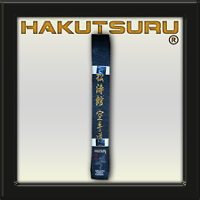 Satin Master Belt Shotokan Karate-Do - Hakutsuru Equipment