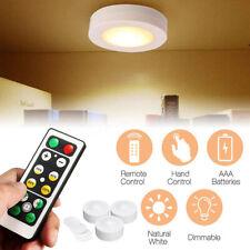 3Pcs Under Cabinet Lighting Kit SMD LED Light Closet Bulb Kitchen Shelf Counter