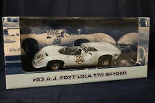 GMP 1:18 A J Foyt race car Lola T70  Spyder numbered limited edition sold out