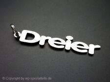 BMW Dreier Schlüsselanhänger Emblem 316 320 323 325 328i 330 E30 E36 E46 E92 M3