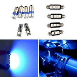 Blue 10pcs LED Interior Light Car Bulbs Kit Error Free Canbus For AUDI A3 (8P)