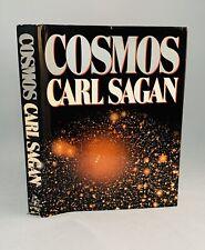 Cosmos-Carl Sagan-SIGNED!!-INSCRIBED!!-Book Club Edition-HC/DJ-1980-VERY RARE!!