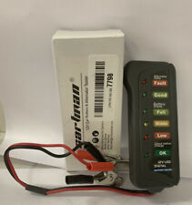 CARTMAN 12V Car Battery & Alternator Tester - Test Battery Condition & Charging