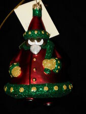 """Patricia Breen Christmas Ornament """"Santa Delivers� #9887 Nwt Neiman Marcus Excl"""