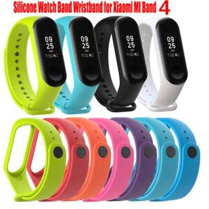 Silicone Wrist Strap Belt WristBand Bracelet Replacement for Xiaomi Mi Band 4