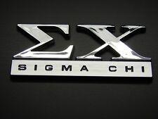SIGMA CHI FRATERNITY  CAR EMBLEM STICKER LOGO BADGE DECAL