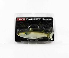 Live Target MUS141MS716 Swimbait Mullet 5.5 Inch Silver (9211)