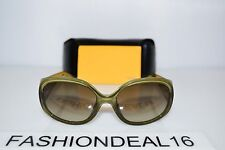 b093dfc5a7f New FENDI Authentic FS5255 Olive Green Brown FS 5255 318 57mm Sunglasses