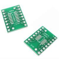 2 x SOP16 S016 SOIC16 TSSOP16 MSOP16 to DIP Adapter Board SMD Breakout