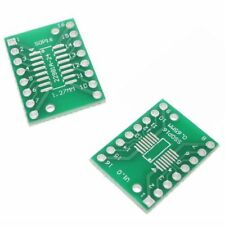 2 x SOP16 S016 SOIC16 TSSOP16 MSOP16 to DIP16 Adapter Board SMD Breakout
