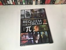 Requiem For A Dream & Pi New Dvd 2007 Darren Aronofsky Collection Double Feature