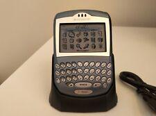 RARE QWERTZ BlackBerry 7290 Satin Blu Smartphone Sbloccato Telefono oggetto da collezione