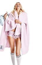 "Victoria's Secret PINK Cozy Blanket 50"" x 60"" Super Soft Baby Pink"