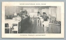 Minor Sanatorium—Saco ME Physical Therapy—Early Medical Equipment—Quack Vintage