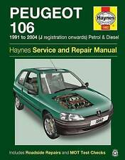 Peugeot 106 Service and Repair Manual by Haynes Publishing Group (Paperback, 2015)