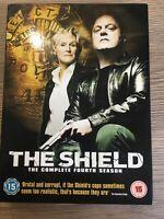 The Shield - Series 4 - Complete (DVD, 2007, 4-Disc Set, Box Set)