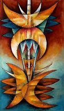 Original Art Painting Cuban Artist Cuba GERMAN ROSAENZ MONTERDE 01