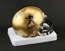 Jay Berwanger SIGNED Heisman Trophy Mini Helmet U of Chicago PSA/DNA AUTOGRAPHED
