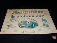 """150 CAR VALETING  ♻️ Disposable ♻️~~~ PAPER FLOOR MATS ~~~ Happinesss is a"""""""