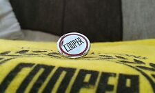 JOHN COOPER ENAMEL PIN LAPEL BADGE MPI CLASSIC MINI S WORKS RARE 1275 GT 1380
