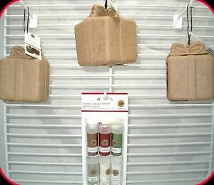 Martha Stewart Present Box Tree Ornaments with Glitter Pack Christmas Holiday 3