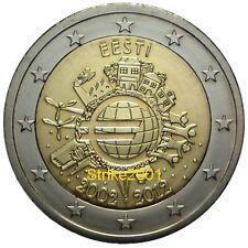 2 EURO COMMEMORATIVO ESTONIA  2012 10° Anniversario