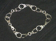 50 Shades of Grey Inspired Tibetan Silver Handcuff Bracelet Ships from USA FREE