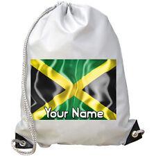Giamaica's Jamaican Bandiera personalizzata Palestra / PE / DANCE / Nuoto Borsa * denominato REGALO *